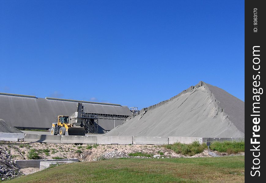 Aggregate storage at Port