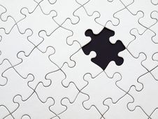 Free Puzzle With Missing Piece Stock Images - 93617524