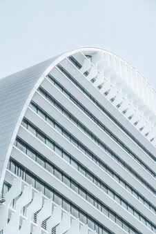 Free Exterior Of Modern White Building Stock Photos - 93617533