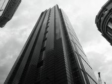 Free High Rise Buildings In Black And White Royalty Free Stock Photography - 93617697