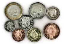 Free Pound Coins Stock Image - 9370281
