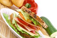 Free Sandwich Stock Photo - 9370720