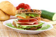 Free Sandwich Royalty Free Stock Image - 9370746