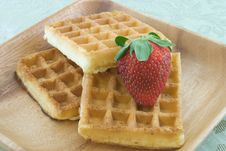 Free Waffles Royalty Free Stock Image - 9371116
