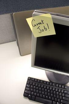 Free Good Job PC Stock Photography - 9371742