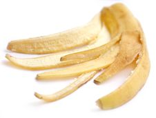 Free Peel Of A Banana Stock Photography - 9371882