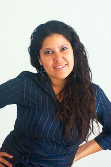 Free Biz Latina Woman Royalty Free Stock Photo - 9372235