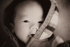 Free Beautiful Baby Portrait Stock Photography - 9372432