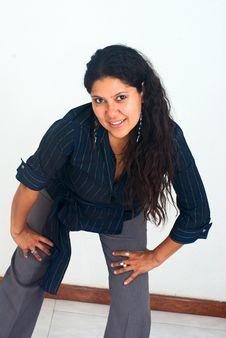 Free Woman Posing Portrait Stock Photography - 9372462