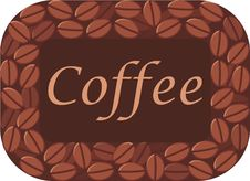 Free Coffee Frame Royalty Free Stock Photography - 9372837