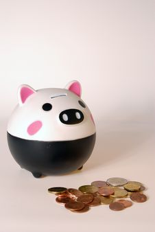 Free Piggy Bank Stock Image - 9372881