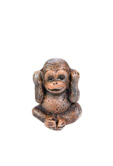 Monkey Figure Stock Photos
