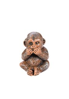 Monkey Figure Royalty Free Stock Photo