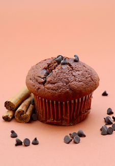 Free Chocolate Muffin Stock Image - 9373901