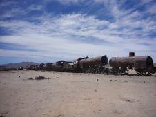 Free Abandoned Locomotive Stock Image - 9374151