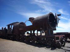 Free Abandoned Locomotive Stock Photography - 9374152