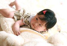 Free Baby Girl Stock Photography - 9374192