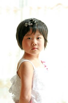 Free Little Girl Royalty Free Stock Photography - 9374307