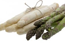 Free White And Green Asparagus Stock Image - 9374871