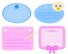 Free Baby Tags Stock Image - 9375421