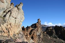 Free Mountain On Tenerife In Teide Stock Images - 9375734