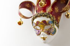 Free One Venetian Mask Royalty Free Stock Image - 9377626
