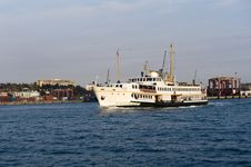 Free Ship In Bosporus Istanbul Stock Photo - 9377650