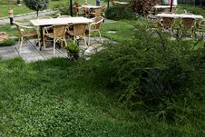 Free Furniture For Gardens Royalty Free Stock Image - 9378326