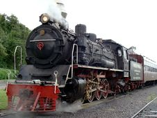 Free Steam Engine Train Royalty Free Stock Images - 9378449