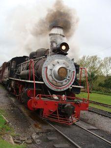 Free Steam Engine Train Stock Photo - 9378500