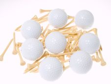 Free Golf Balls Stock Image - 9378561