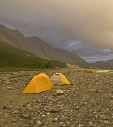 Free Wilderness Camping Royalty Free Stock Images - 9379429