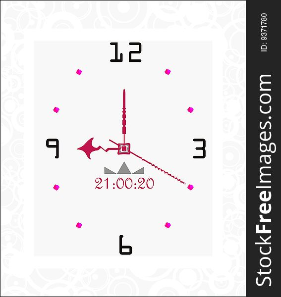 Abstract White Shapes Frame Watch - Free Stock Images & Photos ...