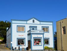 Free Point Arena General Store In California Stock Images - 93731984