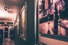 Free Art In Frames On Wall Royalty Free Stock Photography - 93732167