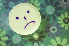 Free Sad Tablet Stock Image - 93778011