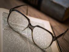Free Close-up Of Eyeglasses Royalty Free Stock Photography - 93797807