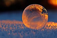 Free Transparent Ball Reflecting Frost Stock Images - 93797894