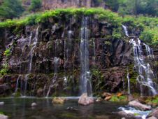 Free Waterfall On Rocks Royalty Free Stock Images - 93798239