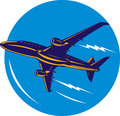 Free Jumbo Jet Plane Taking Off Royalty Free Stock Photos - 9381278