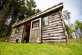 Free Log Cabin In Woods Stock Images - 9384604