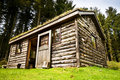 Free Log Cabin In Woods Stock Images - 9384664