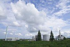 Free Ethanol Factory Stock Image - 9380151