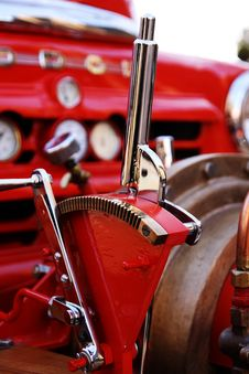 Free Firetruck Lever Stock Photos - 9380393