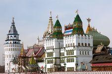 Kremlin Towers Royalty Free Stock Photos