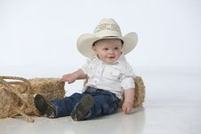 Free Boy With Hat Royalty Free Stock Photos - 9380598