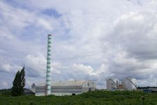 Free Ethanol Factory Royalty Free Stock Photography - 9380797