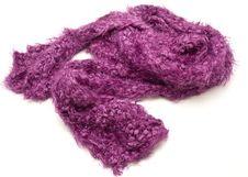 Free Purple Scarf Royalty Free Stock Image - 9380826