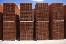 Free Bricks In Yard Stock Photos - 9380873