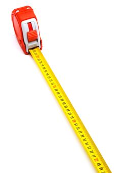 Free Red New Tape-measure Royalty Free Stock Image - 9382466